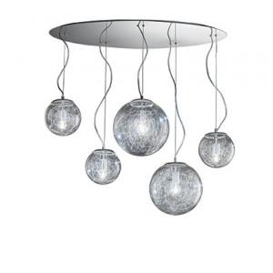 Ideal Lux - Sfera - MAPa Max SP5 - Pendant lamp with 5 diffusers