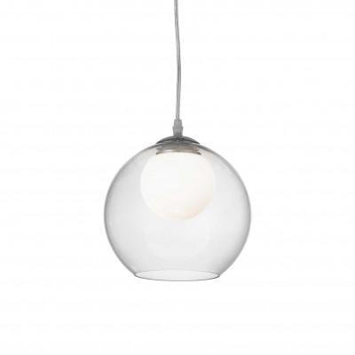 Ideal Lux - Sfera - NEMO SP1 D20 - Pendant lamp - Transparent - LS-IL-052793