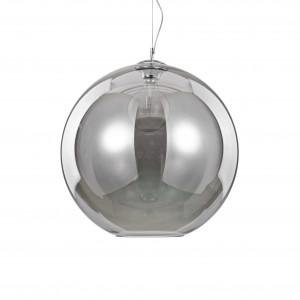 Ideal Lux - Sfera - Nemo SP1 D50 - Suspendion with glass diffuser - Fumé - LS-IL-094137