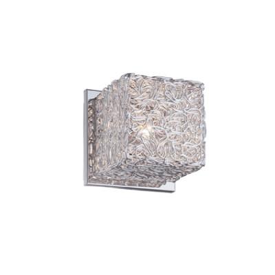 Ideal Lux - Silver - QUADRO AP1 - Applique - Aluminium grey - LS-IL-031644