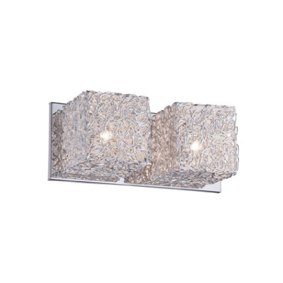Ideal Lux - Silver - QUADRO AP2 - Applique - Aluminium grey - LS-IL-031675