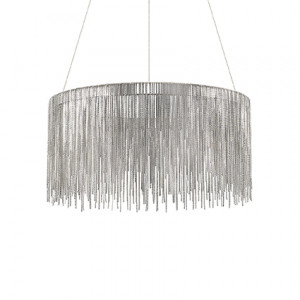 Ideal Lux - Silver - Versus SP168 Round - Pendant lamp