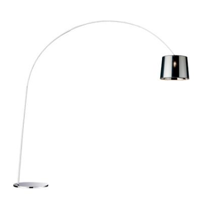 Ideal Lux - Smoke - DORSALE PT1 - Floor lamp - Chrome - LS-IL-005126