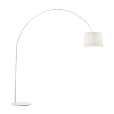 Ideal Lux - Smoke - DORSALE PT1 - Floor lamp - Total White - LS-IL-095127