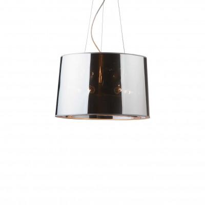 Ideal Lux - Smoke - LONDON SP5 - Pendant lamp - Chrome - LS-IL-032351