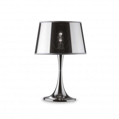 Ideal Lux - Smoke - LONDON TL1 BIG - Table lamp - Chrome - LS-IL-032375