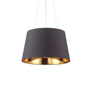 Ideal Lux - Smoke - Nordik SP4 - Pendant lamp - Black - LS-IL-161648