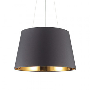 Ideal Lux - Smoke - Nordik SP6 - Pendant lamp - Black - LS-IL-161662