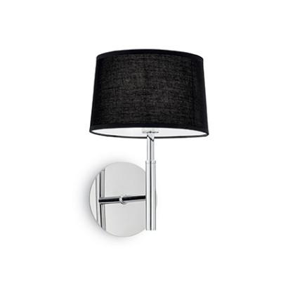 Ideal Lux - Tissue - HILTON AP1 - Applique - Black - LS-IL-164601