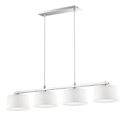 Ideal Lux - Tissue - HILTON SB4 - Pendant lamp - White - LS-IL-075495