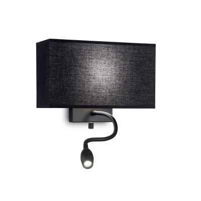 Ideal Lux - Tissue - HOTEL AP2 - Applique - Black - LS-IL-215709