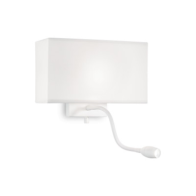 Ideal Lux - Tissue - HOTEL AP2 - Applique - White - LS-IL-215693