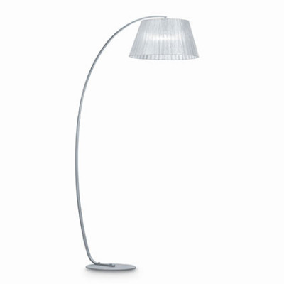 Ideal Lux - Tissue - PAGODA PT1 - Floor lamp - Silver - LS-IL-062273