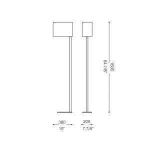 Ideal Lux - Tissue - SHERATON PT1 - Floor lamp