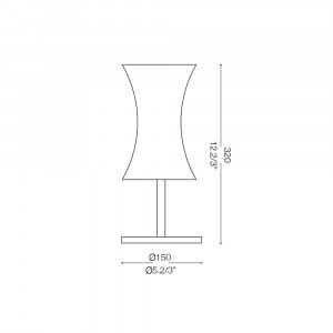 Ideal Lux - Tube - ELICA TL1 SMALL - Table lamp