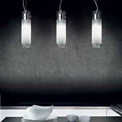 Ideal Lux - Tube - FLAM SP1 SMALL - Pendant lamp