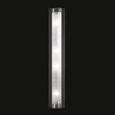 Ideal Lux - Tube - TUDOR AP4 - Wall/ceiling lamp - Transparent - LS-IL-051864