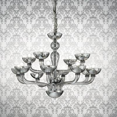Ideal Lux - Venice - Casanova SP12 - Handmade glass chandelier