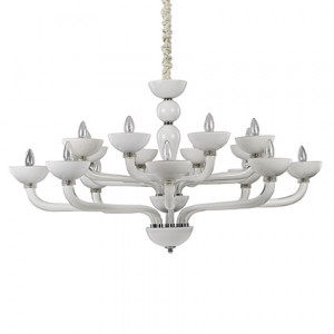 Ideal Lux - Venice - Casanova SP16 - Handmade glass chandelier
