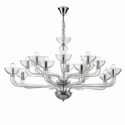 Ideal Lux - Venice - CASANOVA SP16 - Pendant lamp - Transparent - LS-IL-044248