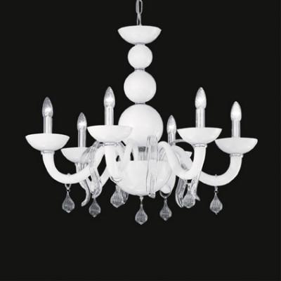 Ideal Lux - Venice - WINDSOR SP6 - Pendant lamp - White - LS-IL-022765