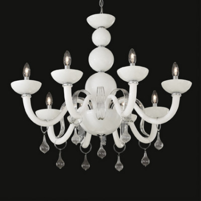 Ideal Lux - Venice - WINDSOR SP8 - Pendant lamp - White - LS-IL-022772