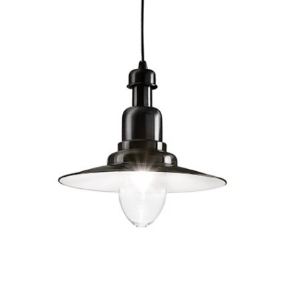 Ideal Lux - Vintage - FIORDI SP1 BIG - Pendant lamp - Black - LS-IL-122052