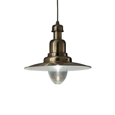 Ideal Lux - Vintage - FIORDI SP1 BIG - Pendant lamp - Burnished - LS-IL-005041