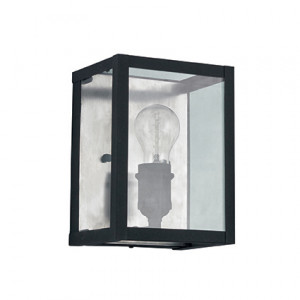 Ideal Lux - Vintage - Igor AP1 - Applique with metal frame and glass slabs