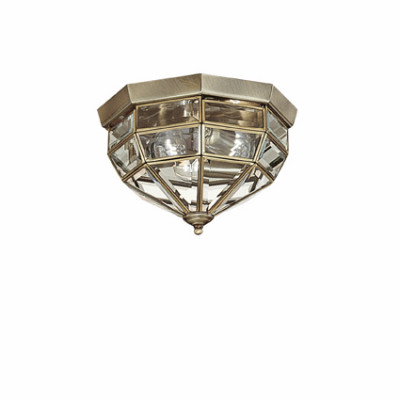 Ideal Lux - Vintage - NORMA PL3 - Wall / Ceiling lamp - Burnished - LS-IL-004426