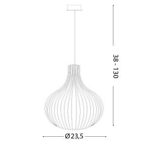 Ideal Lux - Vintage - Onion SP1 D23 - Vintage chandelier