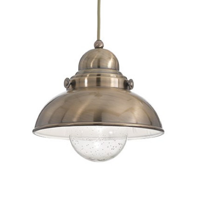 Ideal Lux - Vintage - SAILOR SP1 D43 - Pendant lamp - Burnished - LS-IL-025285