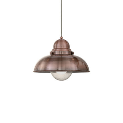 Ideal Lux - Vintage - SAILOR SP1 D43 - Pendant lamp - Copper - LS-IL-025315