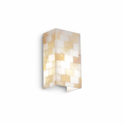 Ideal Lux - Wall - SCACCHI AP1 - Wall lamp - Amber - LS-IL-015101