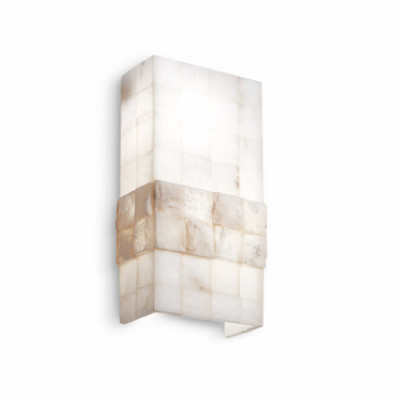 Ideal Lux - Wall - STONES AP2 - Wall lamp - Alabaster - LS-IL-015132