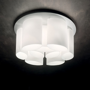 Ideal Lux - White - Almond PL9 - Ceiling lamp