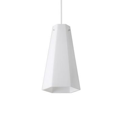 Ideal Lux - White - Cairo SP1 D15 - Modern glass chandelier - None - LS-IL-208176