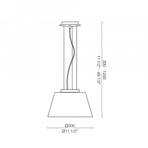 Ideal Lux - White - CYLINDER SP1 D30 - Pendant lamp