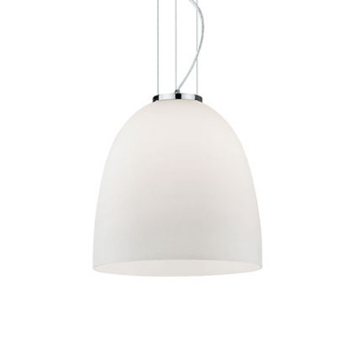 Ideal Lux - White - EVA SP1 SMALL - Pendant lamp - White - LS-IL-077697
