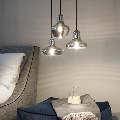 Ideal Lux - White - Lido-1 SP1 - Pendant lamp - Fumé - LS-IL-168326