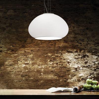 Ideal Lux - White - MAMA SP3 D50 - Pendant lamp