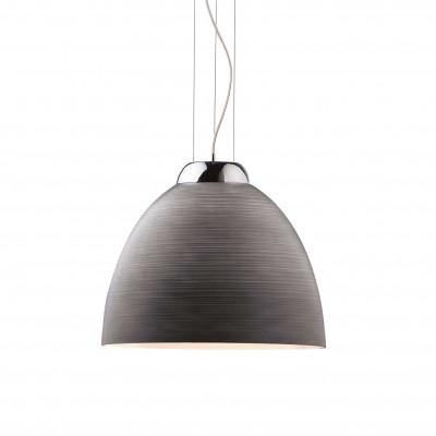 Ideal Lux - White - TOLOMEO SP1 D40 - Pendant lamp - Grey - LS-IL-001821
