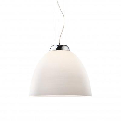 Ideal Lux - White - TOLOMEO SP1 D40 - Pendant lamp - White - LS-IL-001814