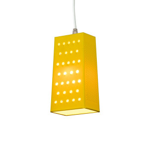 In-es.artdesign - Be.pop - Cacio&Pepe S SP - Suspension lamp - Yellow/Transparent - LS-IN-ES023G-T