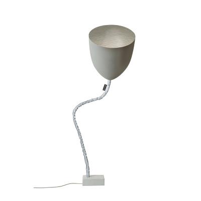 In-es.artdesign - Flower - Flower Cement - Floor lamp - Gray / silver - LS-IN-ES070014G-AR