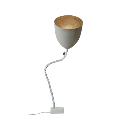 In-es.artdesign - Flower - Flower Cement - Floor lamp - Grey / bronze - LS-IN-ES070014G-BR