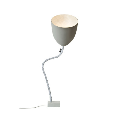 In-es.artdesign - Flower - Flower Cement - Floor lamp - Grey/White - LS-IN-ES070014G-B