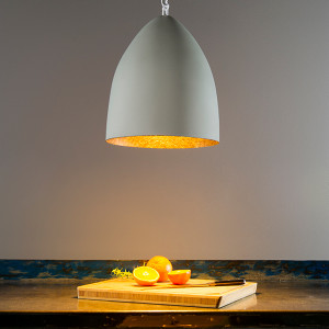 In-es.artdesign - Flower - Flower S Cemento SP - Design suspension lamp