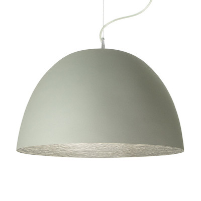 In-es.artdesign - H2O - H2O Cemento SP - Dome shaped chandelier - Gray / silver - LS-IN-ES050G-AR