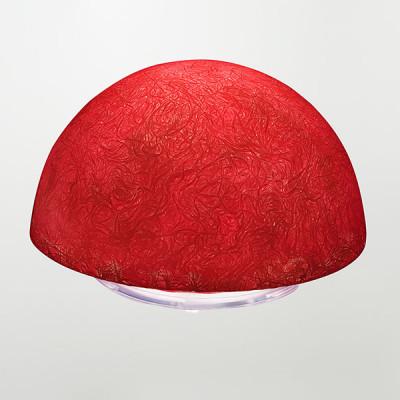 In-es.artdesign - Luna - Button T - Design table or floor lamp - Red - LS-IN-ES090T-R